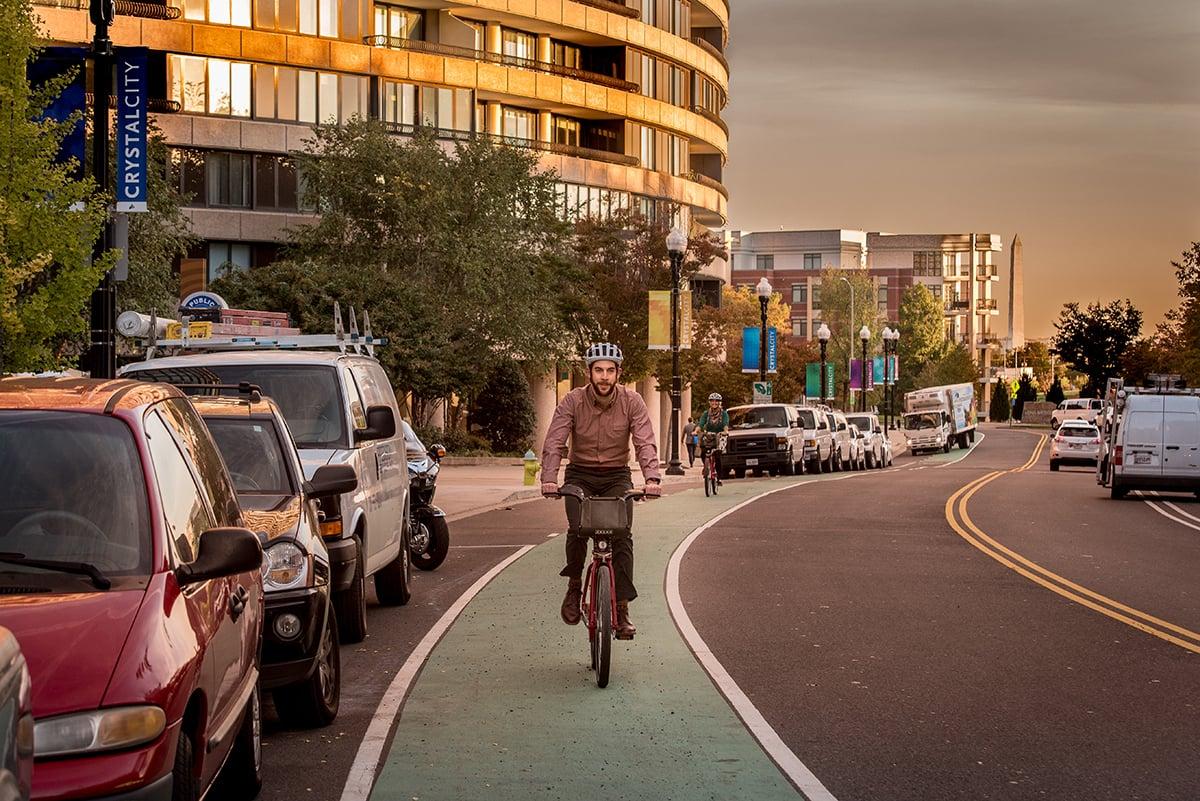 bike-lane-man-helmet
