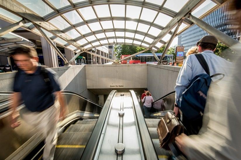 briefcase-crystal-city-metro-escalator