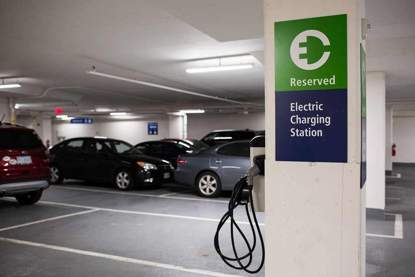 ev-charging-parking-garage