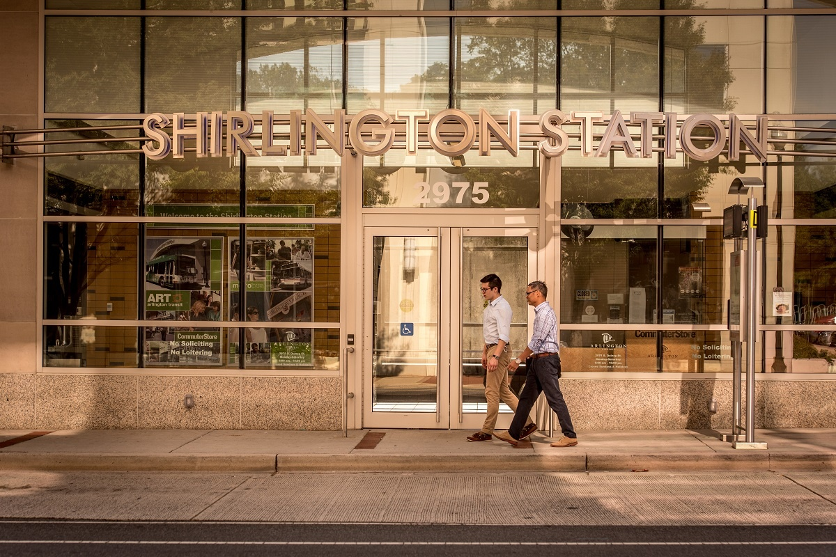 shirlington-station-employees-walking