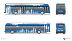 Metroway bus