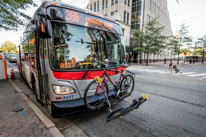 38B, Bus in Arlington