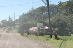 The road to Monteverde