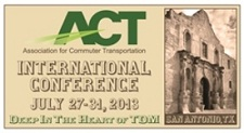 Association for Commuter Transportation (ACT) Conference Banner