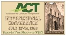 Association for Commuter Transportation (ACT) Conference Banner
