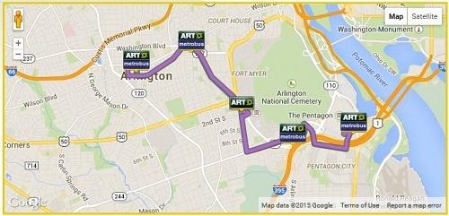 ART 42 bus route