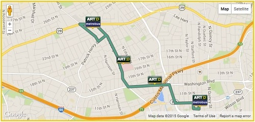 ART 51 Route Map