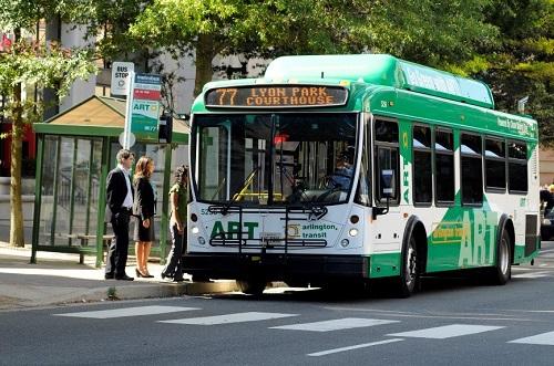 ART 77 bus stop