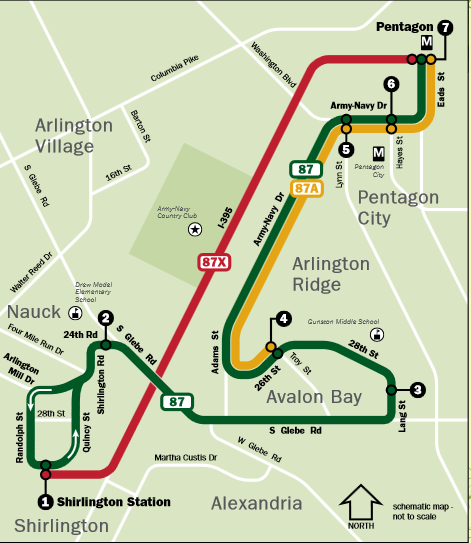 ART 87 - route map options