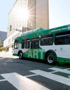 ART Bus in Arlington