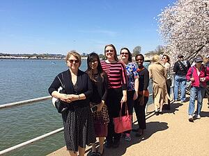ASTS Walk at Lunch group