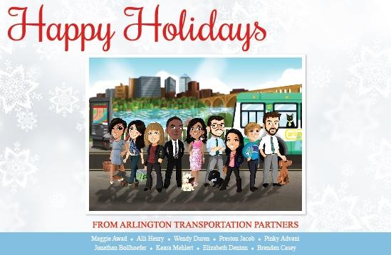 Happy Holidays from Arlington Transportation Partners