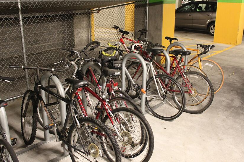 Additional bike parking, Bike Rack