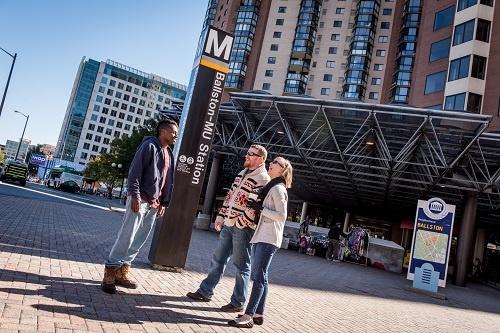 Ballston Metro Station - Ballston BID