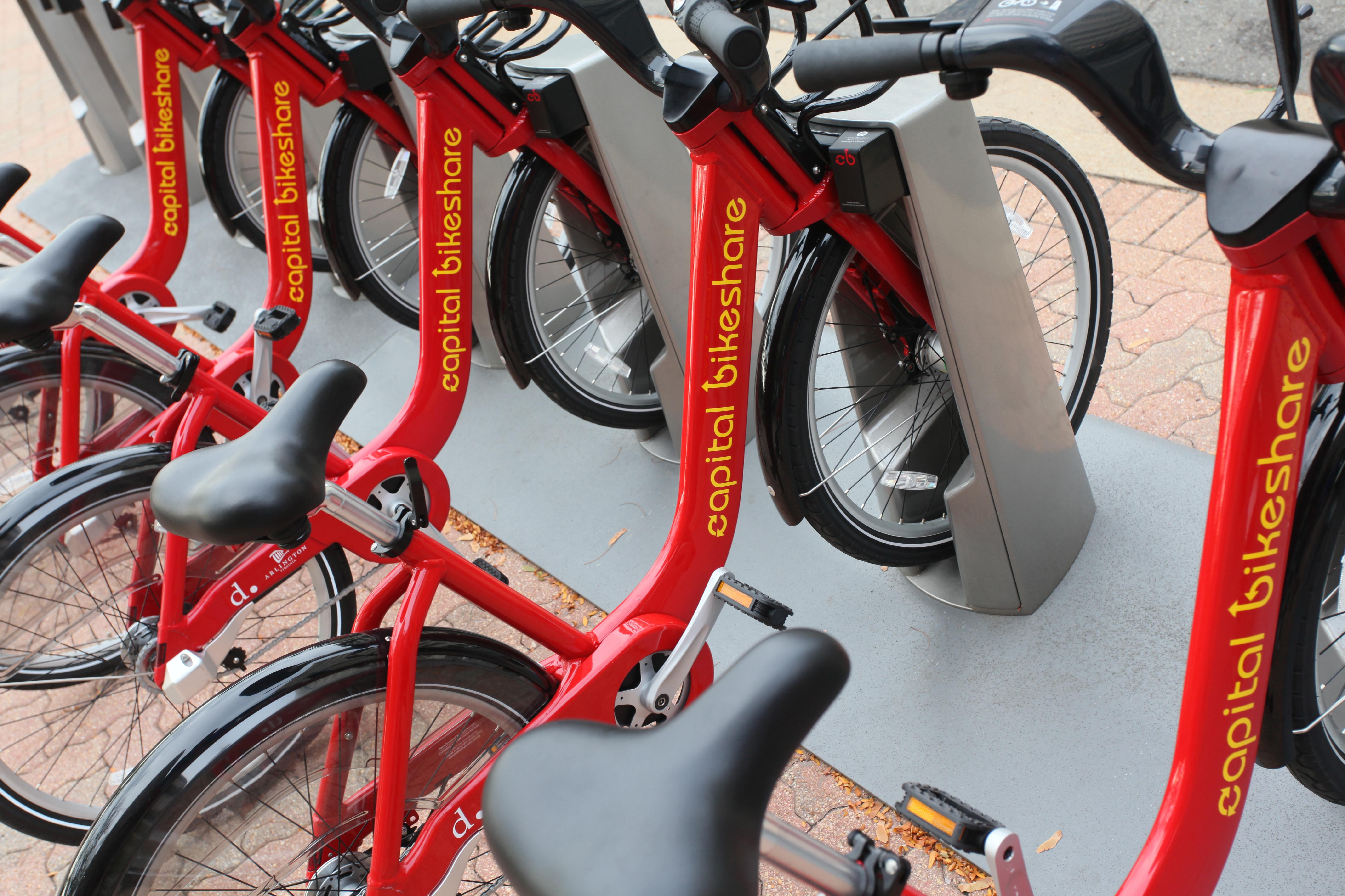 Capital Bikeshare bikes
