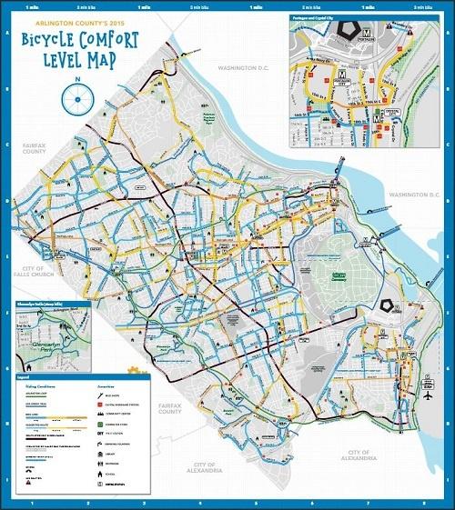 Comfort Bike Map