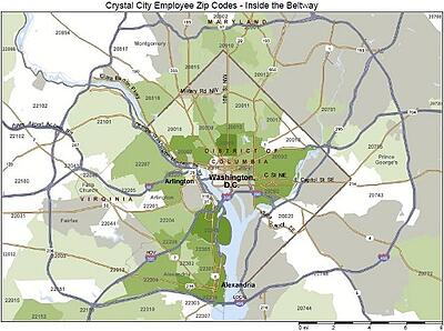 Crystal City Density Map