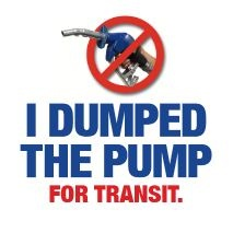 I Dumped the Pump for Transit poster