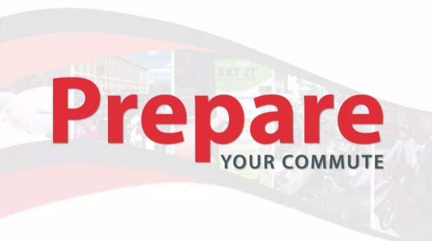 Prepare Your Commute banner