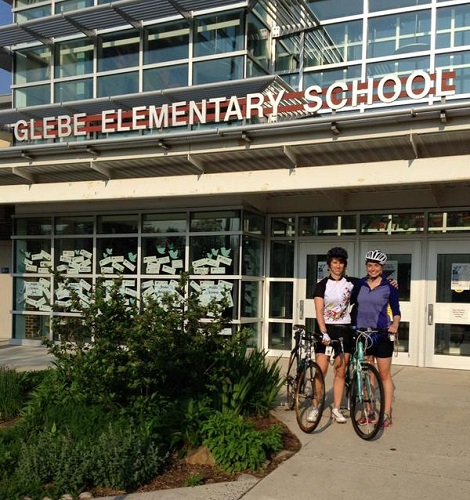 Glebe Elementary - Bike/Walk to School Day