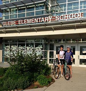 Glebe Elementary - Bike/Walk to School Day