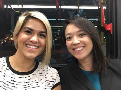 Maggie/Keara on DC Circulator