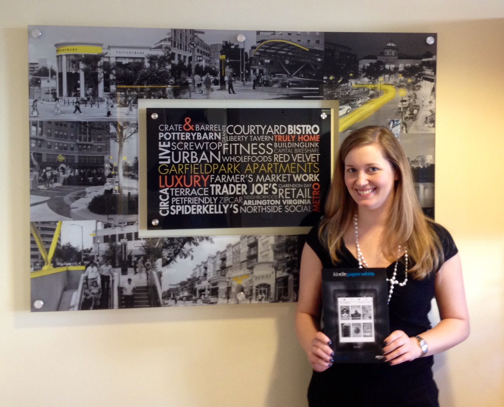 Jenna Franks, property manager of Garfield Park in Clarendon