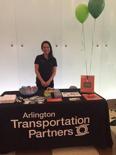Keara Mehlert, Arlington Transportation Partners Event