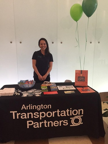 Keara Mehlert, Arlington Transportation Partners Event