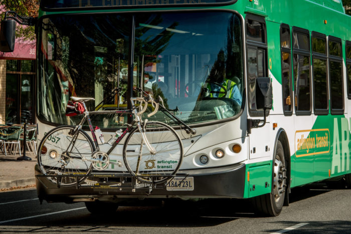 ART bus with bike