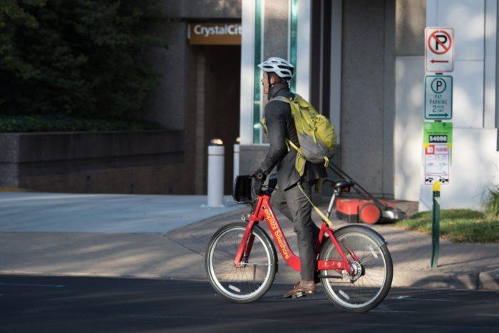 Capital Bikeshare rider
