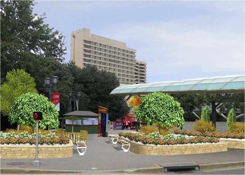 Crystal City Metro Entrance