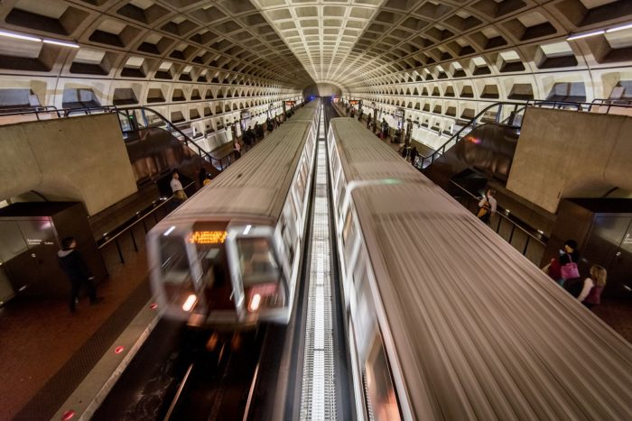 Metro trains, Arlington Virginia, SafeTrack
