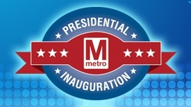 Presidential Inauguration banner