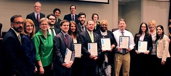 2014 Platinum Champions, Arlington County Board Meeting
