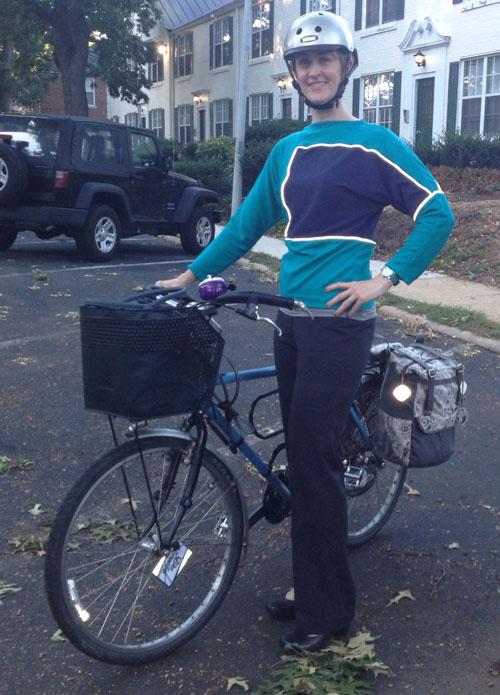 Fashionable Reflective Work Wear by Elizabeth Denton of TinLizzieBikes