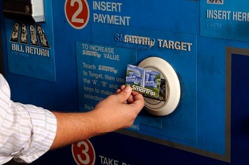 SmarTrip Card Reload at Metro