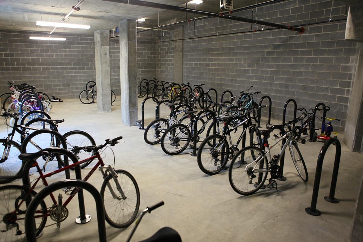 Secured Bike Parking