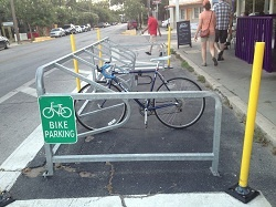 Bike Parking Area