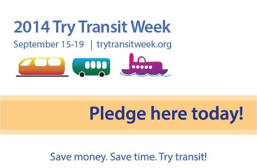 Try Transit Week