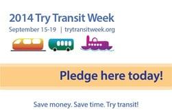 Try Transit Week