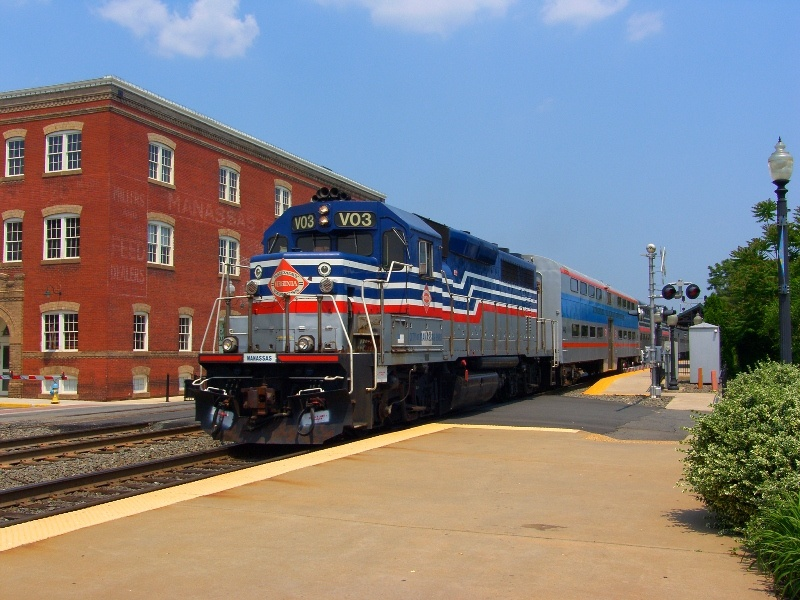 VRE Commuter Train