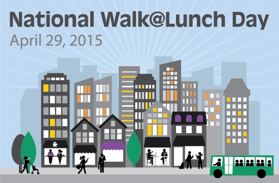 National Walk@Lunch Day Graphic