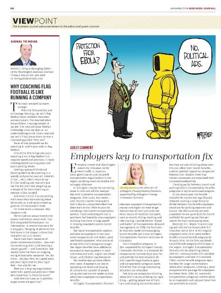 Washington Business Journal - Wendy Duren article