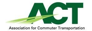 Association for Commuter Transportation (ACT) Logo