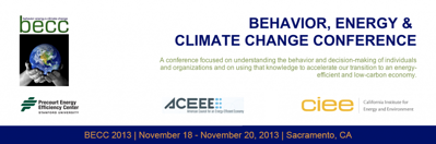 Behavior, Energy, and Climate Change Conference