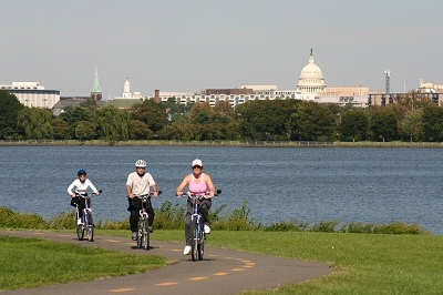 Biking in Arlington