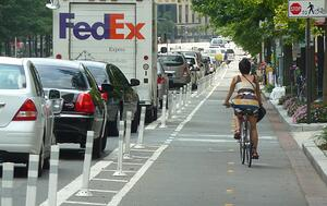 Protected Bike Lane in DC