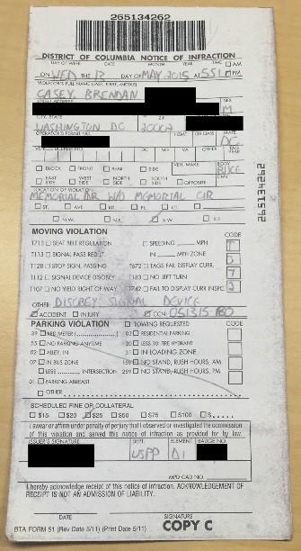 Brendan - ticket