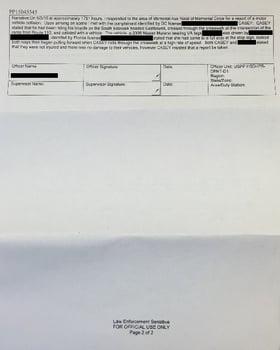 Brendan's Incident Report